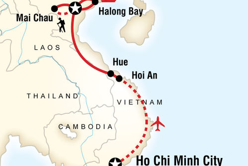 Hiking, Biking and Kayaking Tour of Vietnam