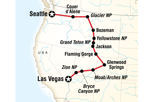 Northwest National Parks Road Trip