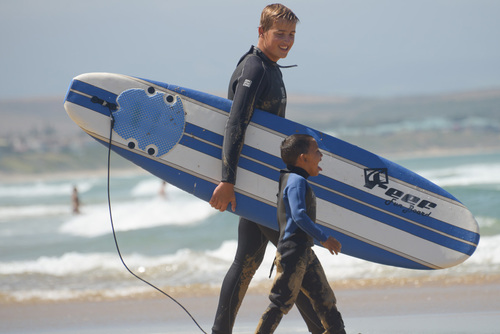 Surf with Kids in Mossel Bay: Surfing with Kids