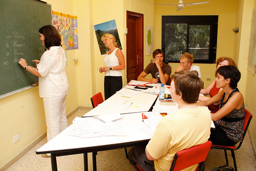 Beginners Spanish Classes with Don Quijote Language School