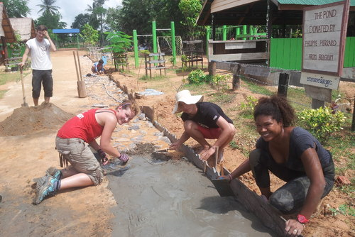 Construction and Community Volunteering in Cambodia