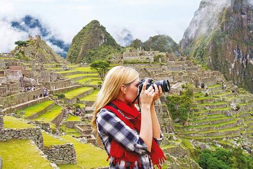 Travelling Backpacking Peru