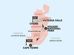 Cape, Safari & Falls
