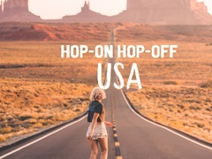 USA Hop-on Hop-off Bus Pass
