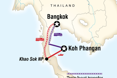 Thailand Full Moon Party (8 days) - Bangkok to Ko Pha Ngan
