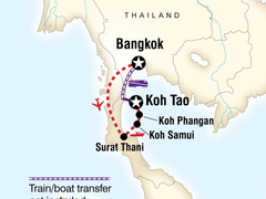 Thailand Island Hopping East Coast (8 days) Bangkok to Ko Tao
