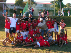 SOUTH AFRICA: Coach Sports in Township Schools in Knysna