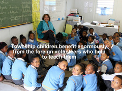 SOUTH AFRICA: Teach Children in Township Schools in Knysna
