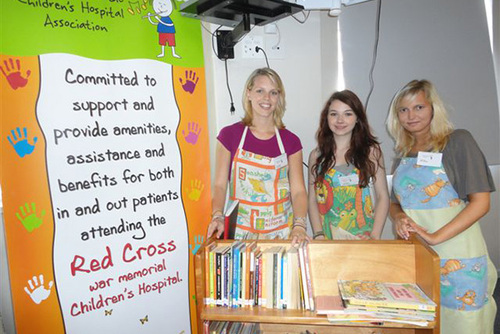 SOUTH AFRICA: Care for Children in the Red Cross Childlren's Hospital in Cape Town