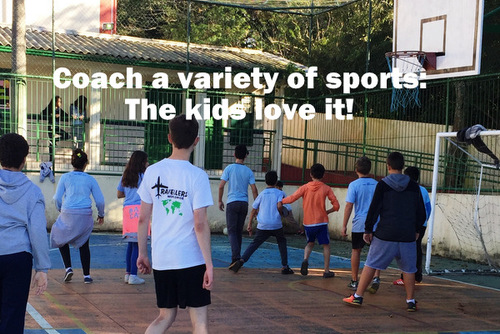 BRAZIL: Coach Sports to School Children in stunning Florianopolis Island