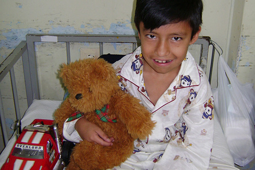 ECUADOR: Care For Children At A Children's Hospital In Quito