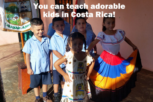 COSTA RICA: Teach English / Languages to Children in Schools in Esparza