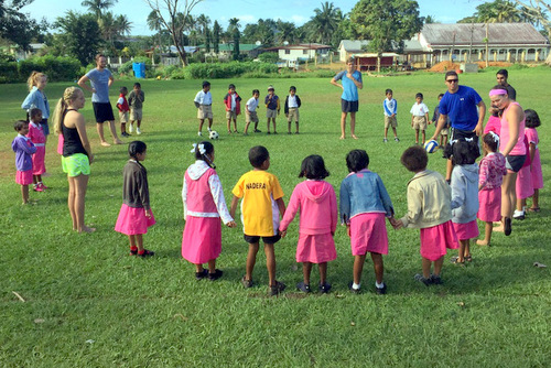 FIJI: Sports Education and Coaching Sports to Children in Suva
