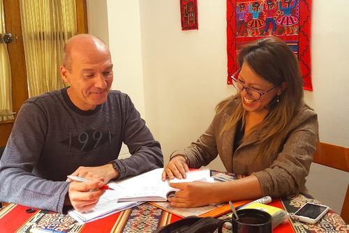 Business Spanish Course, Cusco, Peru