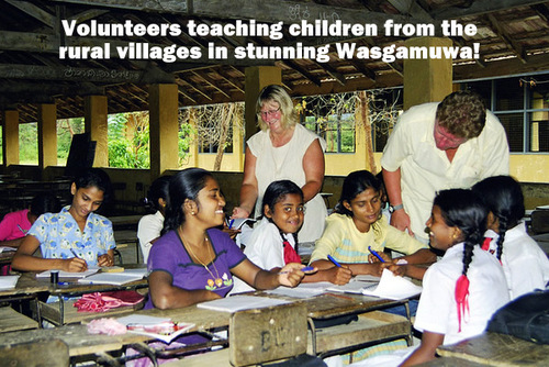 SRI LANKA: Teach English to Village Community Children in Rural Wasgamuwa