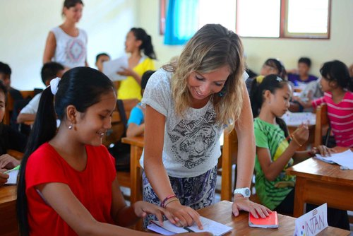 Volunteer Teaching Asia,Africa,South America and Oceania
