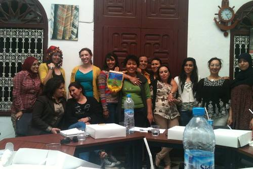 Volunteer Helping Women in Rabat, Morocco