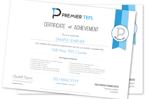 168 Hour Ofqual Regulated Level 5 TEFL Course
