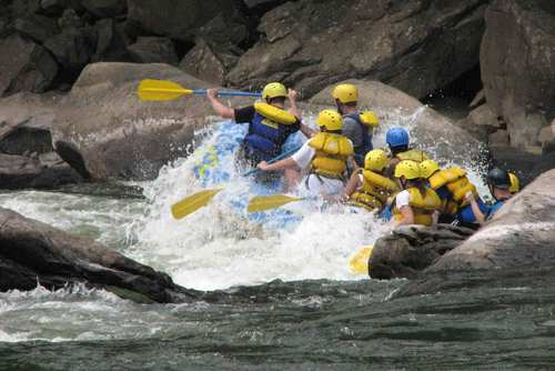 Zambezi White Water Rafting Tour