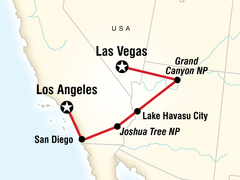 San Diego, Grand Canyon & Vegas Adventure