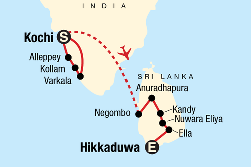 Discover Kerala and Sri Lanka