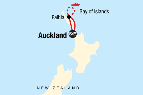 New Zealand - Bay of Islands Tour