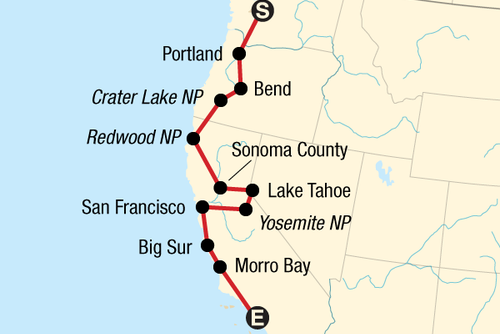 Pacific Coast Road Trip
