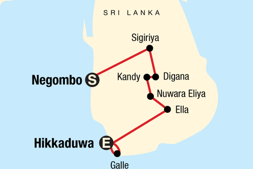 Sri Lanka of a Shoestring