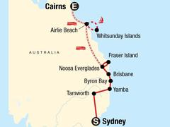 Sydney to Cairns Adventure