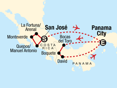 Costa Rica & Panama Quest
