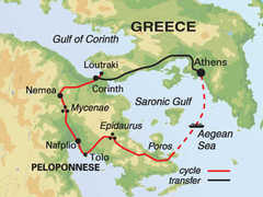 Greece Cycling Tour
