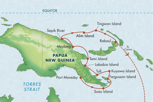 Papua New Guinea Adventure Cruise
