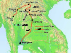 Laos Cycling Tour