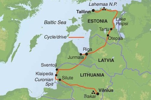 Baltics Cycling Tour