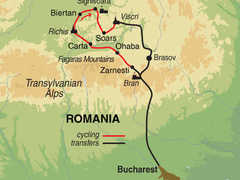 Romania Cycling Tour