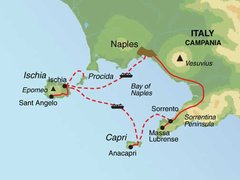 Bay of Naples Island Hopping Tour