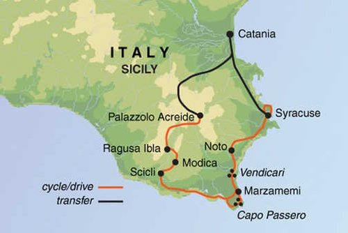 Sicily Cycling Tour