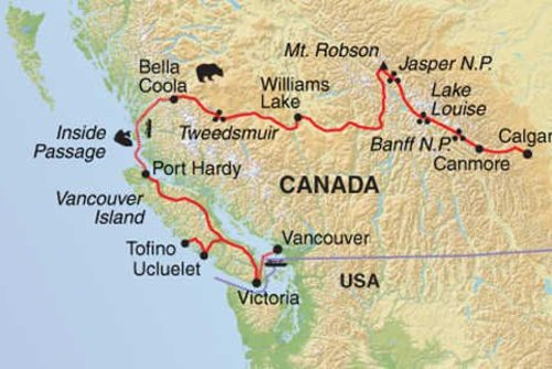Canadian Wildlife & Vancouver Island Tour