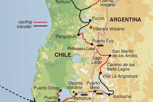 Chile & Argentina: Lake District Cycling Tour