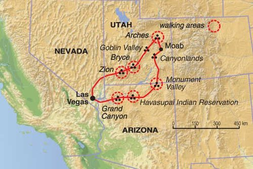 Southwestern USA National Parks Tour