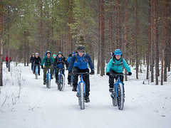 Fat Biking Tour in Finland