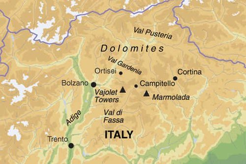 Dolomites Walking Tour
