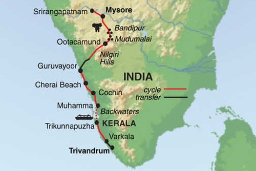 Tropic India & Kerala Cycling Tour