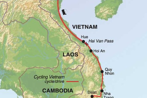 Vietnam Cycling Tour: Saigon to Hanoi