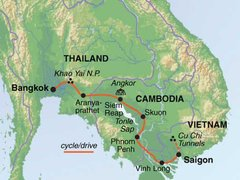 Indochina & Angkor Cycling Tour