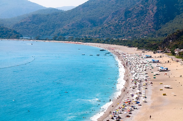 Olüdeniz Beach, Olüdeniz, Turkey