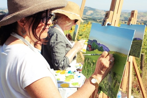 En Plein Air Painting Vacation