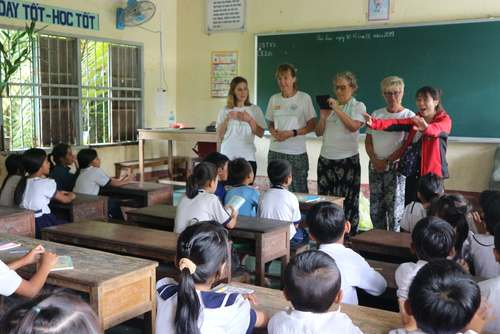 Care and Teach Underprivileged Children in Mekong Delta, Vietnam