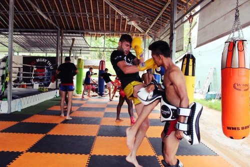 Intensive Thai Boxing Training in Ao Nang