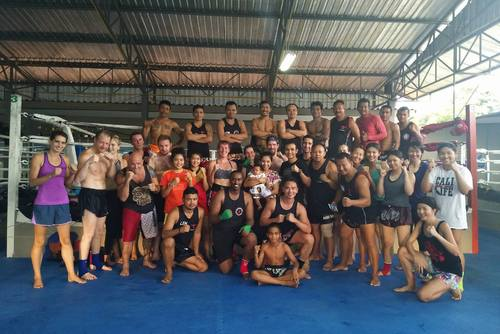 Muay Thai Training in a Family Atmosphere